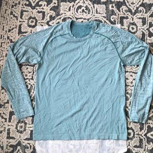 Lululemon men's long sleeve tech shirt size L